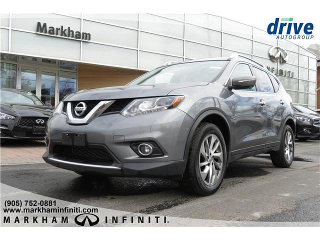 2015 Nissan Rogue SL (Stk: K776A) in Markham - Image 1 of 25