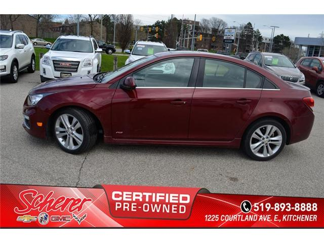 2015 Chevrolet Cruze  (Stk: 1815620A) in Kitchener - Image 2 of 9