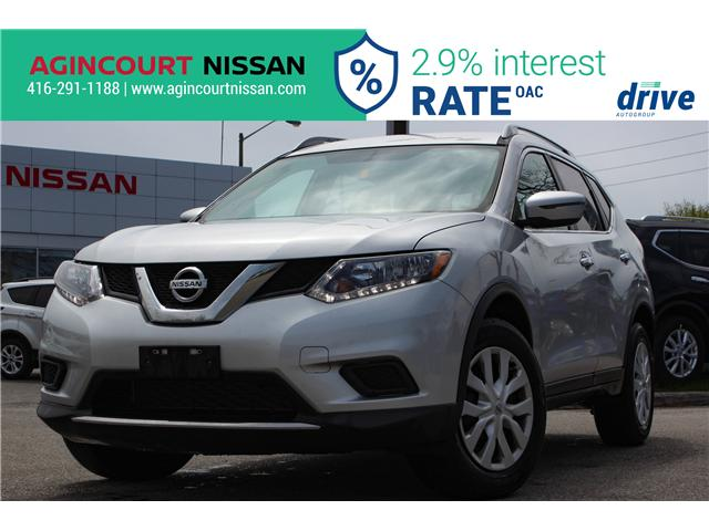 2016 Nissan Rogue S (Stk: U12489) in Scarborough - Image 1 of 14