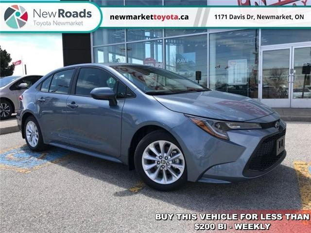 2020 Toyota Corolla LE (Stk: 34243) in Newmarket - Image 1 of 18