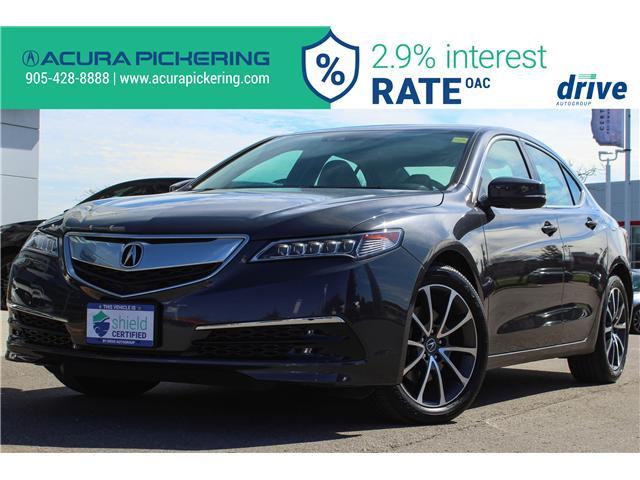 2016 Acura TLX Tech 19UUB3F59GA802018 AP4837 in Pickering