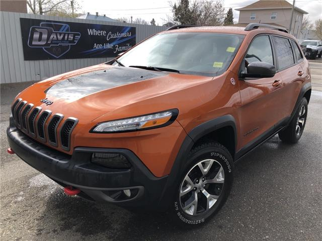 2015 Jeep Cherokee Trailhawk 1C4PJMBS5FW661157 14959 in Fort Macleod