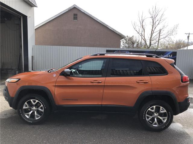 2015 Jeep Cherokee Trailhawk (Stk: 14959) in Fort Macleod - Image 2 of 22