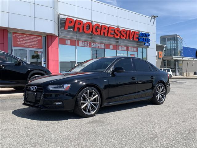 2015 Audi S4 3.0T Technik (Stk: FA006957) in Sarnia - Image 1 of 24