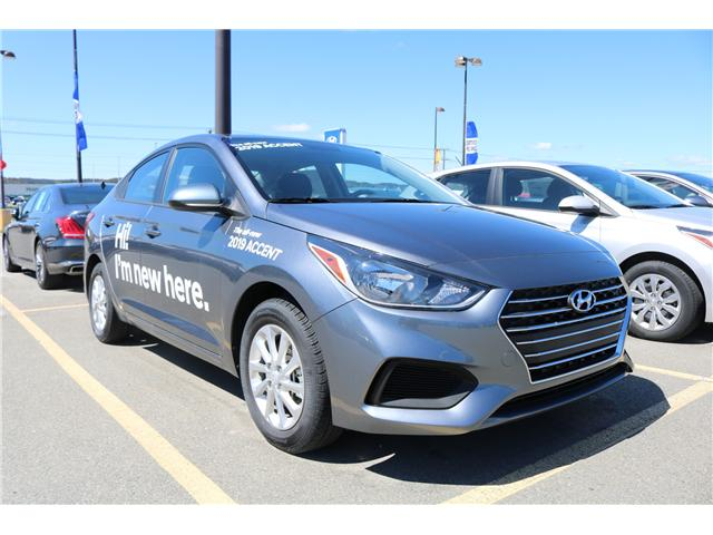 2019 Hyundai Accent Preferred (Stk: 91288) in Saint John - Image 1 of 2
