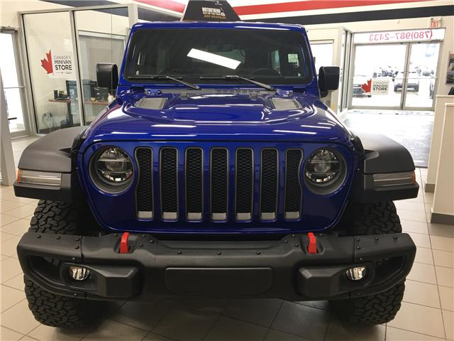 2019 Jeep Wrangler Unlimited Rubicon (Stk: 19WR4686) in Devon - Image 2 of 9