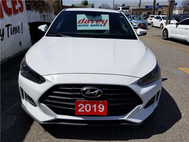 2019 Hyundai Veloster 2.0 GL (Stk: 19-316) in Oshawa - Image 2 of 15