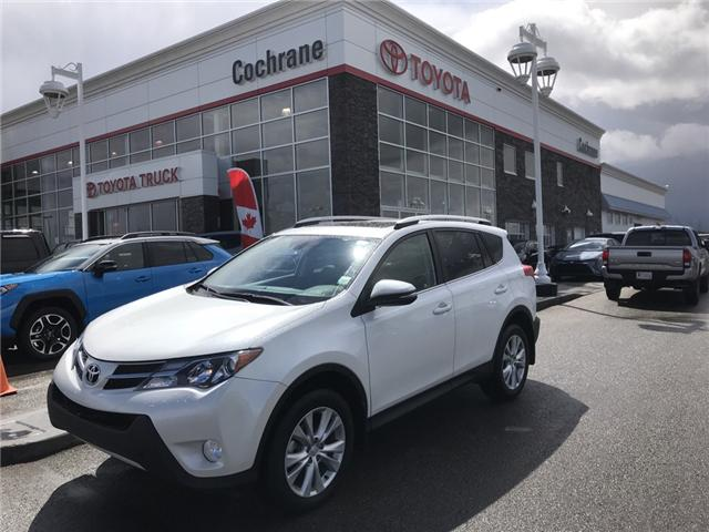 2015 Toyota RAV4 Limited (Stk: 190212A) in Cochrane - Image 1 of 14