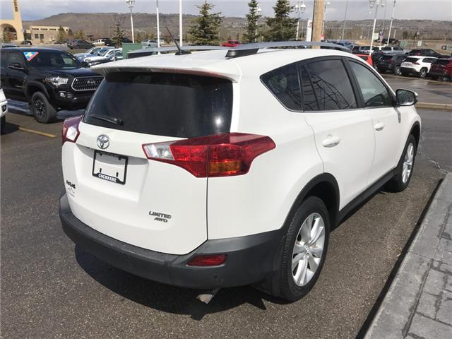 2015 Toyota RAV4 Limited (Stk: 190212A) in Cochrane - Image 5 of 14
