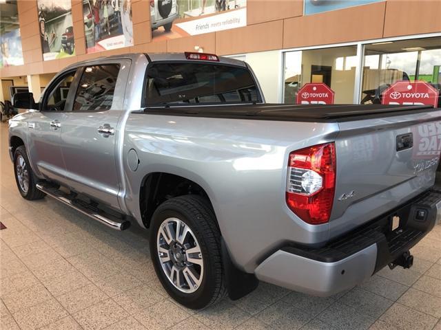 2019 Toyota Tundra Platinum 5.7L V8 (Stk: 190098) in Cochrane - Image 3 of 12