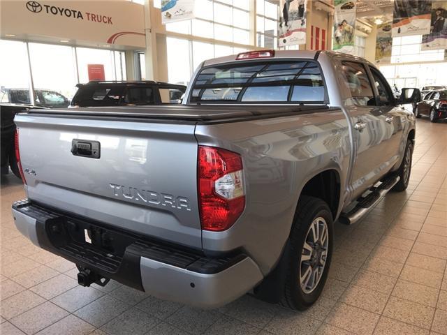 2019 Toyota Tundra Platinum 5.7L V8 (Stk: 190098) in Cochrane - Image 5 of 12