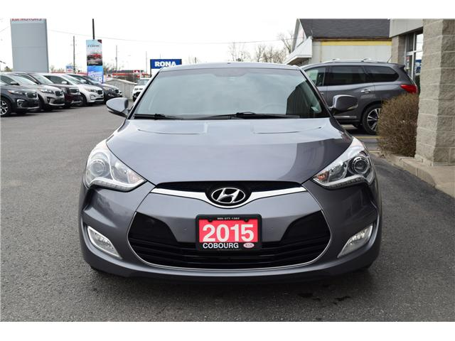 2015 Hyundai Veloster Tech (Stk: ) in Cobourg - Image 2 of 22