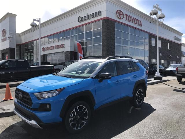 2019 Toyota RAV4 Trail (Stk: 190272) in Cochrane - Image 1 of 14