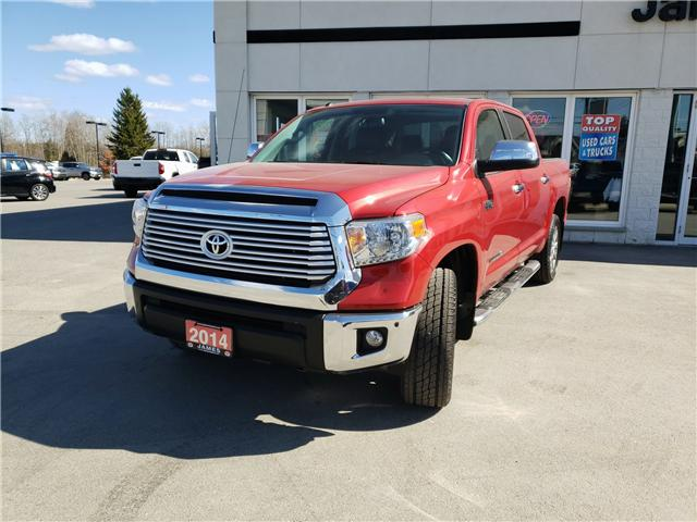 2014 Toyota Tundra Limited 5.7L V8 (Stk: N19139A) in Timmins - Image 1 of 11