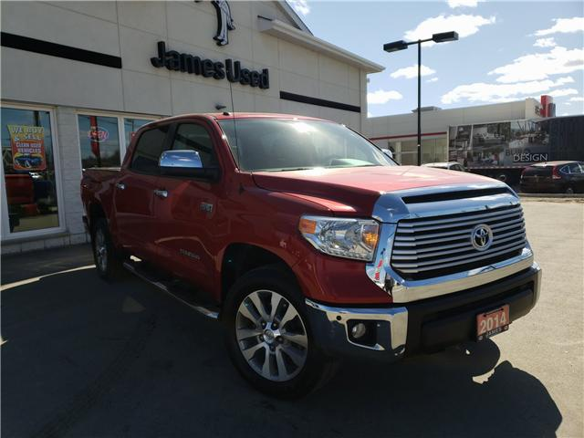 2014 Toyota Tundra Limited 5.7L V8 (Stk: N19139A) in Timmins - Image 2 of 11
