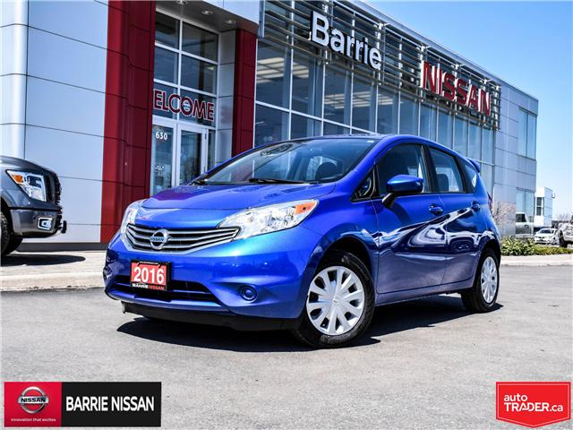 2016 Nissan Versa Note 1.6 SV (Stk: P4556) in Barrie - Image 1 of 24
