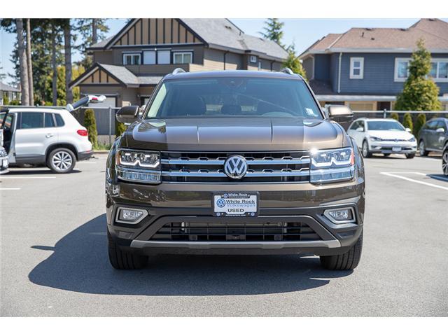 2019 Volkswagen Atlas 3.6 FSI Execline (Stk: KA512001) in Vancouver - Image 2 of 30