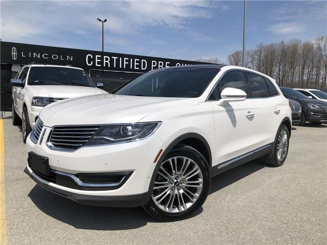 2018 Lincoln MKX Reserve (Stk: ES19341A) in Barrie - Image 1 of 30