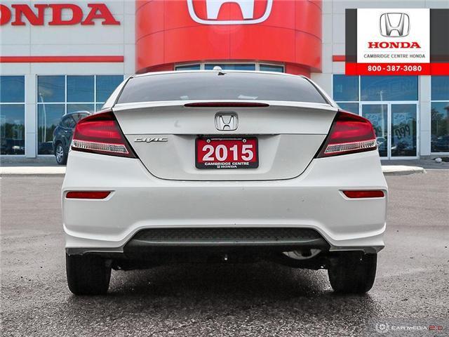 2015 Honda Civic  (Stk: U4951) in Cambridge - Image 5 of 27