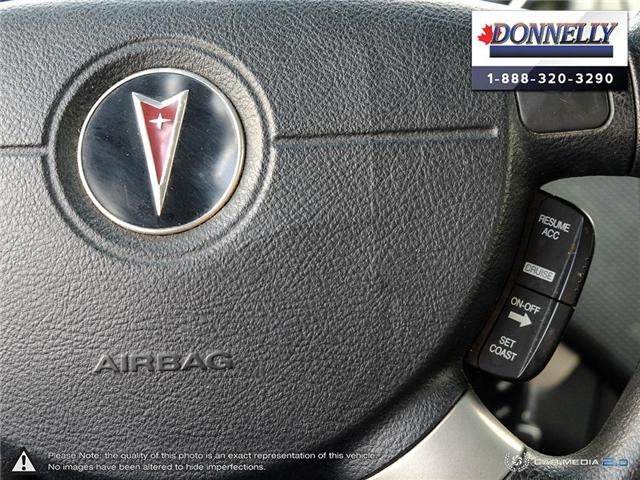 2008 Pontiac Wave SE (Stk: PBWDUR5960A) in Ottawa - Image 17 of 28