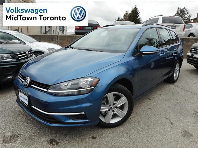 2019 Volkswagen Golf SportWagen  (Stk: W0399) in Toronto - Image 1 of 27