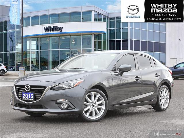 2015 Mazda Mazda3 GT (Stk: 180834A) in Whitby - Image 1 of 27
