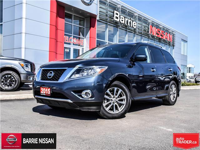 2015 Nissan Pathfinder SV (Stk: P4560) in Barrie - Image 1 of 25