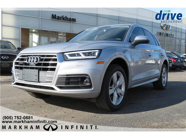 2018 Audi Q5 2.0T Technik (Stk: K825A) in Markham - Image 1 of 25