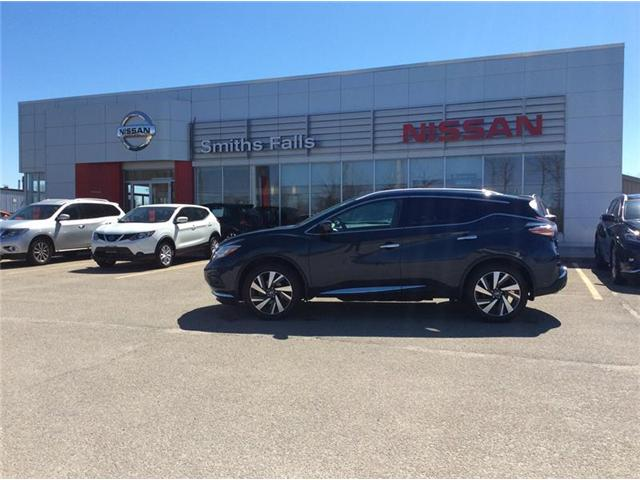 2016 Nissan Murano Platinum (Stk: 19-200A) in Smiths Falls - Image 1 of 13