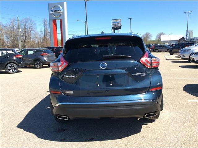 2016 Nissan Murano Platinum (Stk: 19-200A) in Smiths Falls - Image 4 of 13