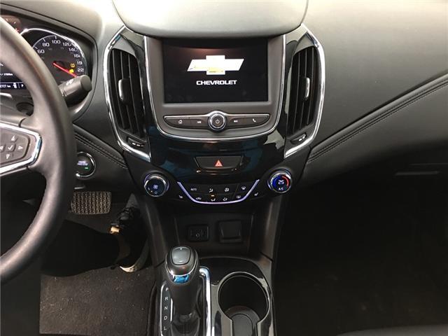 2019 Chevrolet Cruze Premier (Stk: 34960EW) in Belleville - Image 9 of 27