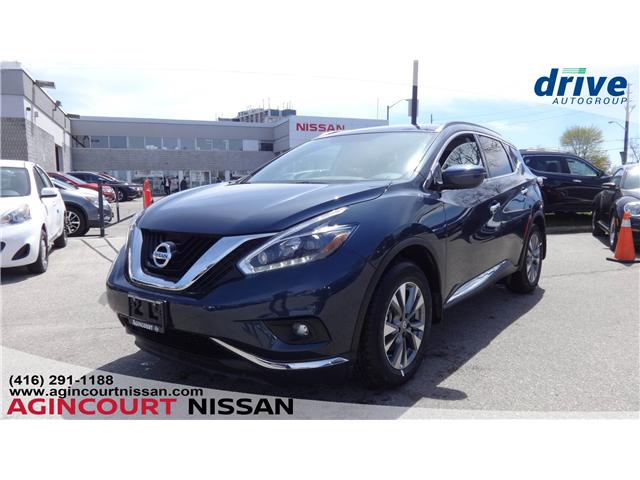 2018 Nissan Murano SV (Stk: U12498) in Scarborough - Image 1 of 22