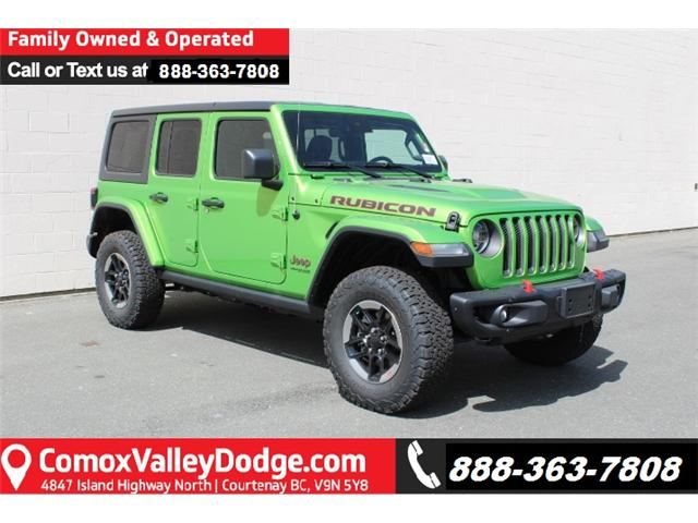 2019 Jeep Wrangler Unlimited Rubicon (Stk: W565160) in Courtenay - Image 1 of 30