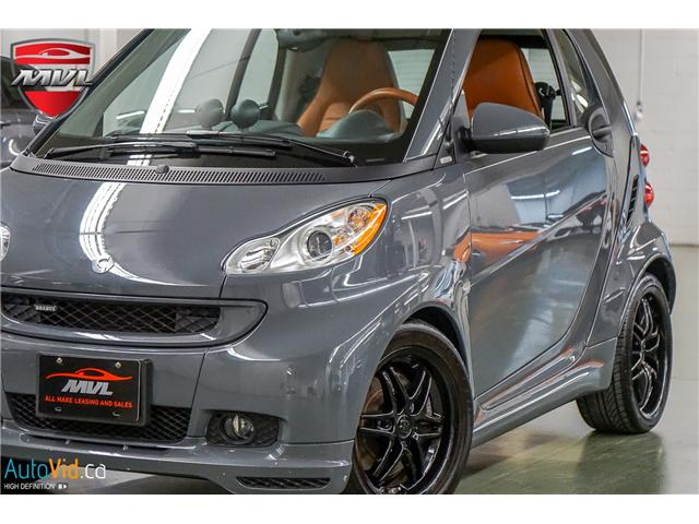 2009 Smart Fortwo 10th Anniversary Edition (Stk: ) in Oakville - Image 1 of 31