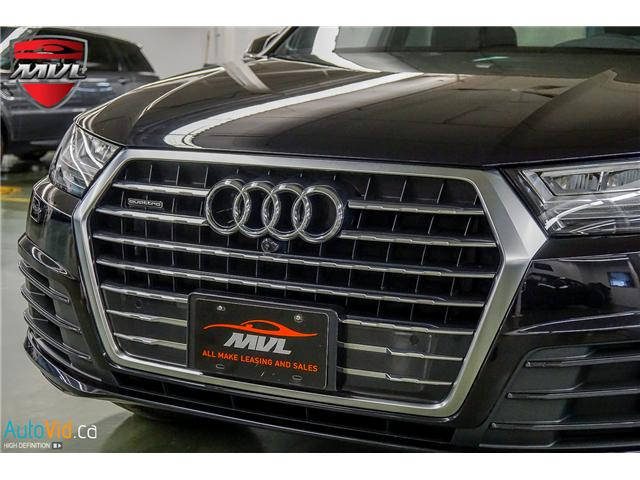 2017 Audi Q7 3.0T Progressiv (Stk: ) in Oakville - Image 13 of 32