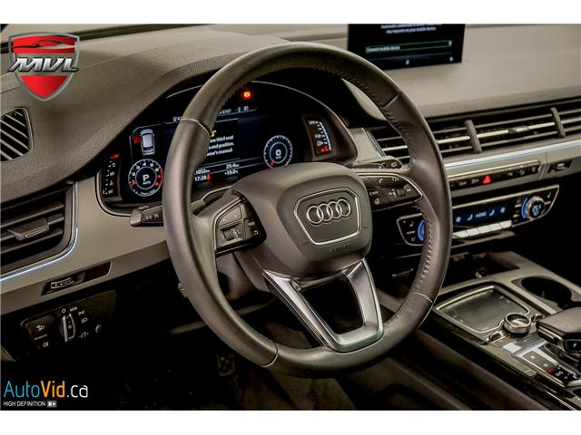 2017 Audi Q7 3.0T Progressiv (Stk: ) in Oakville - Image 19 of 32