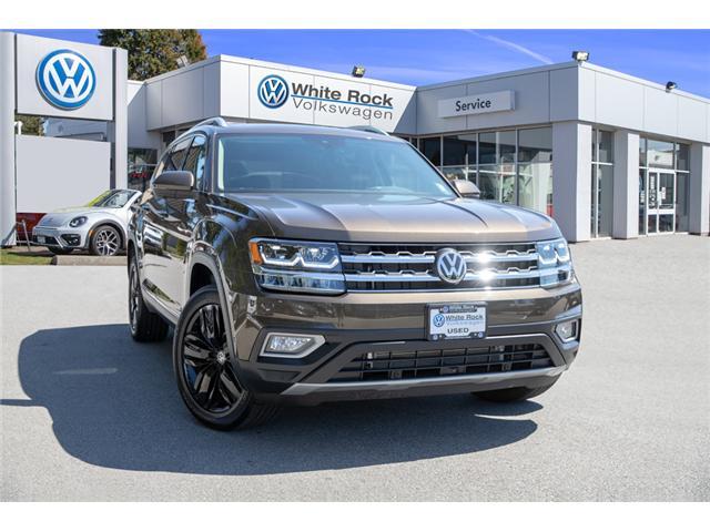 2019 Volkswagen Atlas 3.6 FSI Execline (Stk: KA512001) in Vancouver - Image 1 of 30