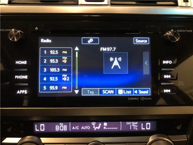 2017 Subaru Legacy 2.5i (Stk: F0316) in Mississauga - Image 15 of 25