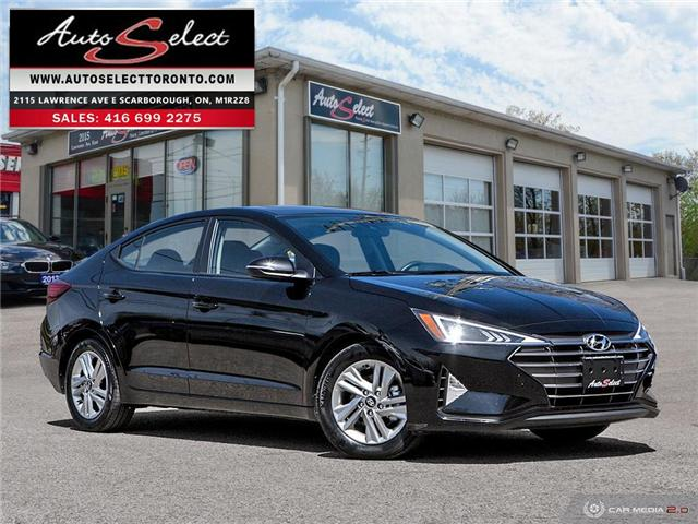 2019 Hyundai Elantra  (Stk: 19H14T23) in Scarborough - Image 1 of 30
