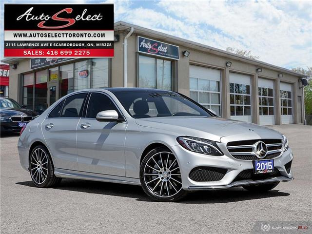 2015 Mercedes-Benz C-Class 4Matic (Stk: 1MC4R67) in Scarborough - Image 1 of 30