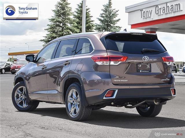 2019 Toyota Highlander Limited (Stk: U9106) in Ottawa - Image 4 of 30