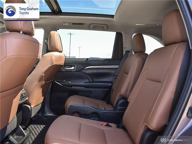 2019 Toyota Highlander Limited (Stk: U9106) in Ottawa - Image 25 of 30