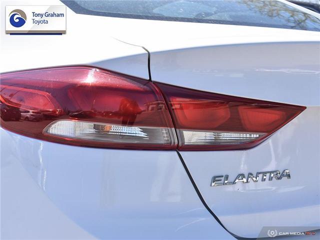2018 Hyundai Elantra GL SE (Stk: U9105) in Ottawa - Image 12 of 29