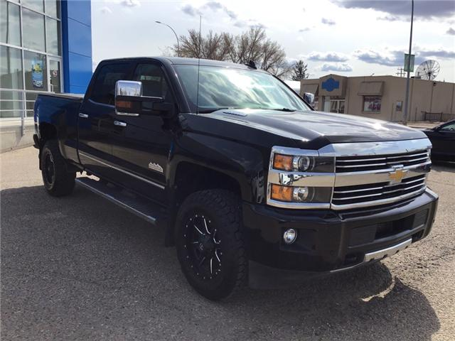 2015 Chevrolet Silverado 3500HD High Country (Stk: 154861) in Brooks - Image 1 of 21