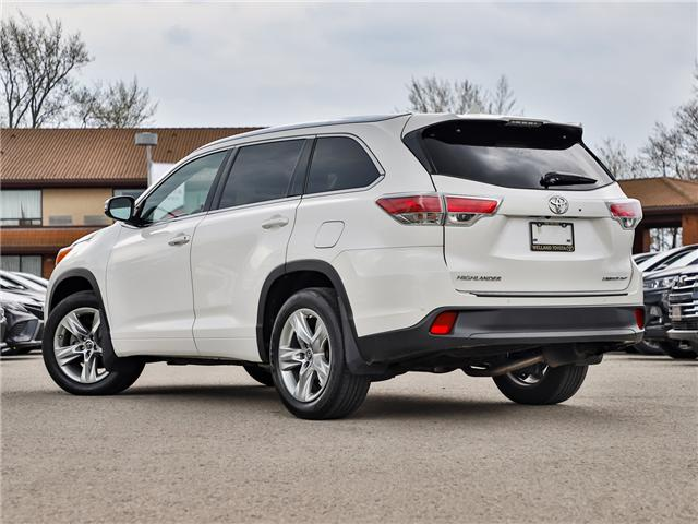 2016 Toyota Highlander Limited (Stk: P3453) in Welland - Image 2 of 24