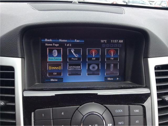 2015 Chevrolet Cruze LT 1LT (Stk: B7397) in Ajax - Image 6 of 22
