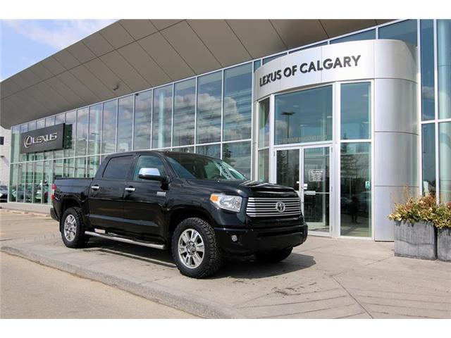 2014 Toyota Tundra Platinum 5.7L V8 (Stk: 3935A) in Calgary - Image 1 of 14