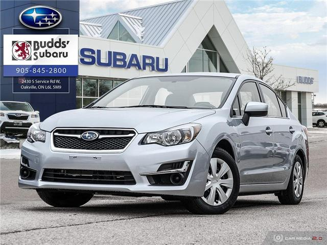 2016 Subaru Impreza  (Stk: PS2084) in Oakville - Image 1 of 26