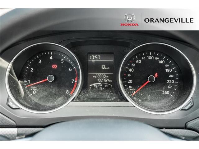 2016 Volkswagen Jetta 1.4 TSI Trendline+ (Stk: C19024A) in Orangeville - Image 10 of 19