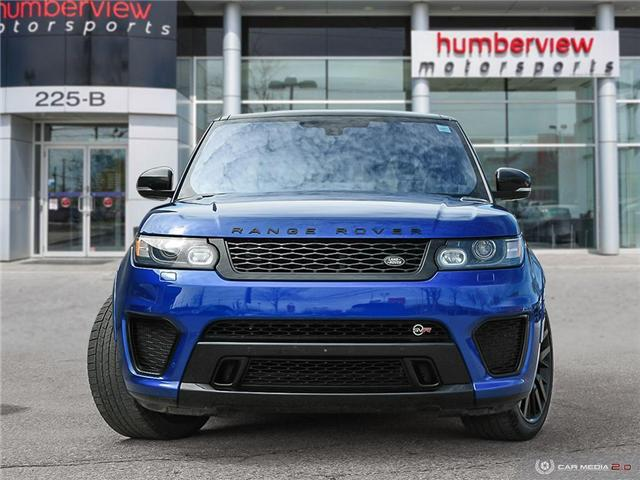 2016 Land Rover Range Rover Sport V8 Supercharged (Stk: 19HMS277) in Mississauga - Image 2 of 27